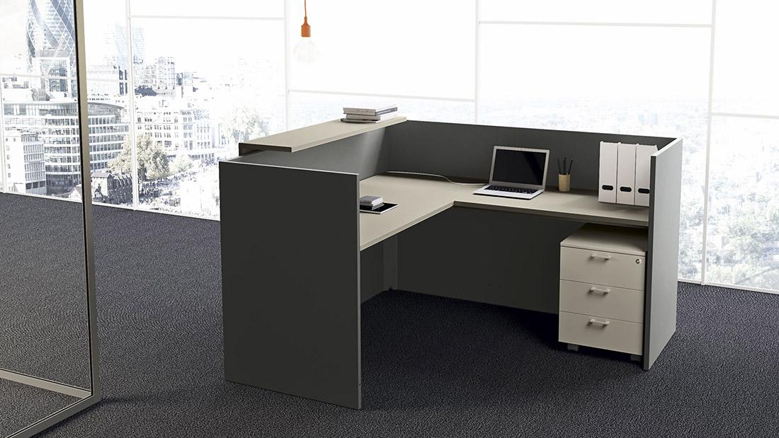 Reception dm office mobili per ufficio for Mobili per ufficio reception